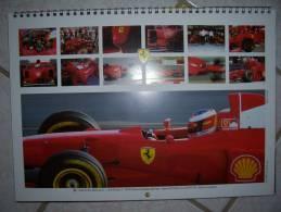 "1 Calendrier Ferrari F1 ""spécial Italie"" (1998) - Boeken"