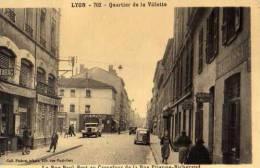 69 LYON Quartier De La Villette, Rue P Bert Au Carrefour De La Rue E Richerand,bureau De  Tabac,pharmacie,degraissage, - Otros