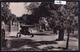 Madagascar - Nossi-Bé : Entrée De La Résidence - Canon (1958) ; Trous D'épingle : Scan (-486) - Madagascar