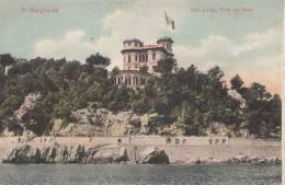 SANTA MARGHERITA LIGURE  - GENOVA - VILLA COSTA VISTA DAL MARE BELLA FOTO D´EPOCA ORIGINALE 100% - Genova
