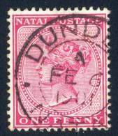 Natal Postmark DUNDEE Cancel. - Natal (1857-1909)
