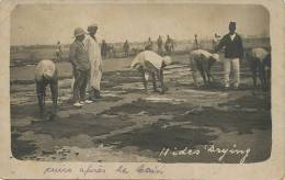 Real Photo Hides Drying Leather , Sechage Cuir P. Used Stamped Southern Nigeria 1918 - Nigeria