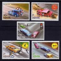 Kenya - 1978 - Road Safety (Part Set) - MNH - Kenya (1963-...)
