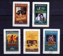 Australia - 1995 - Centenary Of Cinema (Self-Adhesive) - Used - Oblitérés