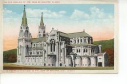 The New Basilica Of Ste Anne De Beaupré Québec Canada - Ste. Anne De Beaupré