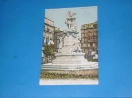 CPA 13 MARSEILLE  Monument Puget Carte Colorisee Publicite Vieille Absinthe Picard - Marseille
