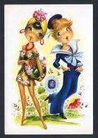 Ilustrador Barbá. Ed. S. J. Serie 331 Nº A. Nueva - Otros Ilustradores