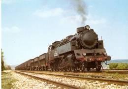 Nº34POSTAL DE ESPAÑA DE UNA LOCOMOTORA ANDORRA  (TREN-TRAIN-ZUG) AMICS DEL FERROCARRIL - Trains