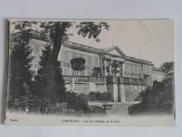 60  Compiègne Coin Du Château Vu Du Parc -  Correspondance De 1918 - Compiegne
