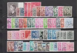 Belgium , Different Stamps Lot, Used - Belgien