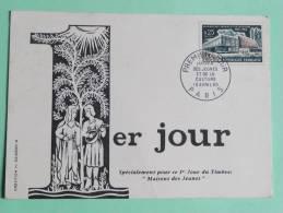 Journée Du Timbre - 1er Jour, 1965, Maison Des Jeunes Et De La Culture - FDC