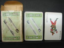 VB44. Jeu De Cartes Des Cigarettes Saint Michel - 54 Cartes