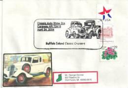 USA. Classic Auto-show. Caraway. Arkansas.. Une Belle Enveloppe Souvenir. - Voitures