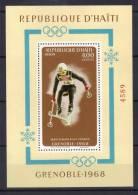 MB90 - HAITI , Grenoble 1968 :  Michel Il BF 33A  *** - Inverno1968: Grenoble