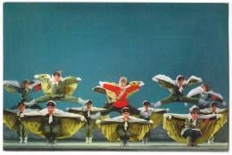 ASIA CHINA BEIJING REVOLUCIA MODERNA PEKINOPERO DANCE FROM TIGRA MONTO OLD POSTCARD - China