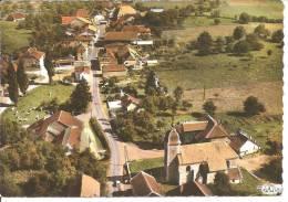 POULIGNEY ( Doubs ) - L´Eglise Et Le Centre - Vue Aérienne CIM (état) - Altri Comuni
