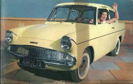 Voiture Ancienne Ford Anglia De Luxe Recto Verso - Toerisme