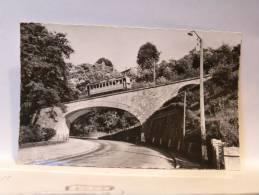 CPSM 02 Aisne - LAON - Route Du Viaduc Et Tram - Laon