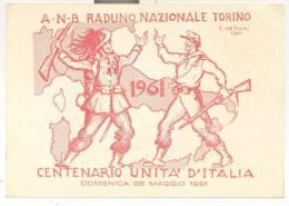 2636-BERSAGLIERI-RADUNO NAZIONALE-TORINO-1961-FG - Reggimenti