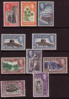 1939 - Ceylon KGVI Short Set - Ceylon (...-1947)