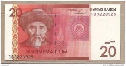 Kirghizistan - Banconota Non Circolata Da 20 Som - 2009 - Kirghizistan