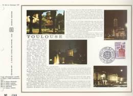France CEF Feuillet 242 - Toulouse - 46è Congrès Philatéliste - 1er Jour  9.06.73 Toulouse - T.1763 - Covers & Documents