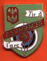 Pin´s -tir A L´arc Club  E.S Argences - Bogenschiessen