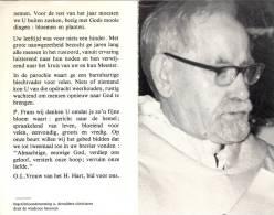 Doodsprentje Priester Pater Frans De Meyst - Opdorp Buggenhout - Heverlee - Beernem 1900 - 1983 - Obituary Notices