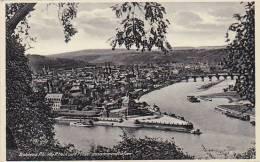 Germany Koblenz Deutsches Eck Wo Rhein und Mosel zusammenfliesse