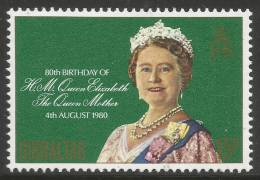 Gibraltar. 1980 80th Birthday Of The Queen Mother. 15p Mint Never Hinged - Gibraltar