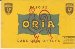 Buvard Bijoux Oria Tampon Fandard Coulommiers - Buvards, Protège-cahiers Illustrés