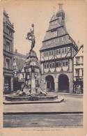 Germany Giessen Kriegerdenkmal mit Rathaus