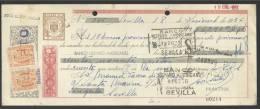 CLASE 4.ª - BANCO HISPANO AMERICANO - SEVILLA - 1956 - E6405526 - Bills Of Exchange
