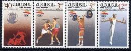 ARMENIA 1992 Olympic Games, Barcelona, Set In Strip Of 4 MNH / ** - Armenia