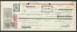 CLASE 9.ª - BANCO DE JEREZ - BANCO POPULAR ESPAÑOL - SEVILLA - 1956 - F6464678 - Bills Of Exchange