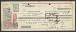 CLASE 6.ª - BANCO HISPANO AMERICANO - SEVILLA - 1956 - G5209994 - Bills Of Exchange