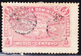 R)REPUBLICA DOMINICANA SCN 112. I/2 CTVO. STAMP. - Dominican Republic