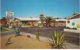 Chandler AZ Arizona, Aloha Motel, Lodging, C1960s Vintage Postcard - Chandler