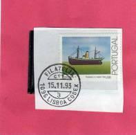 PORUGAL - PORTOGALLO 1993 SHIPS VIGO SHIP - NAVI NAVE TRAINERAS 1 USED - Usati