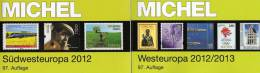 Michel Katalog Südwest-/West-Europa 2013 Neu 116€ Band 2+6 : F E P M Monaco B NL Lux UK Man Jersey Guernsey Island Eire - Collections