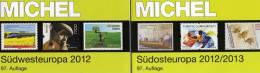Michel Katalog Südwest-/Südost-Europa 2013 Neu 116€ Band 2+4 : F E P M Monaco BG GR RO TK Zypern Kreta Ägäis - Colecciones