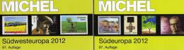 Michel Katalog Südwest-/Süd-Europa 2013 Neu 116€ Band 2+3 : F E P M Monaco I YU SM Vaticano AL Fiume Triest KR SLO SRB - Old Paper
