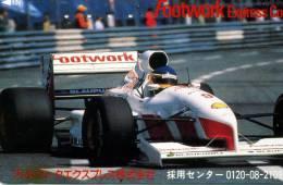 CARTE TELEPHONIQUE JAPONNAISE RARE!!!! ET PETIT PRIX!!!!...VOITURE DE COURSE GROS PLAN....DIVERSES MARQUES . - Automobili