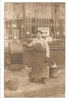 CARTE PHOTO A SITUER - DEVANTURE DE MAGASIN - TORREFACTEUR - CAFE - EPICERIE - TORREFACTION - Cartes Postales
