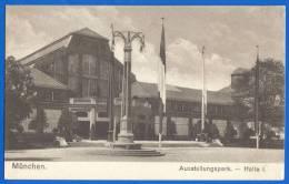 Deutschland; München; Gewerbeschau 1922; Ausstellungspark Halle 1 - Muenchen
