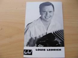 LOUIS LEDRICH..   MUSICIEN .ACCORDEONISTE - Photographs
