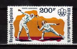 TOGO   PA 282 * *   Jo 1976  Escrime - Fencing