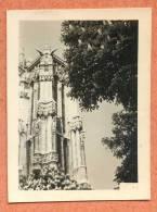 75004 - Tour Eglise St Jacques à Paris En 1955 -  Architecture - Photo 4.5 Cm X 6 Cm - Lieux