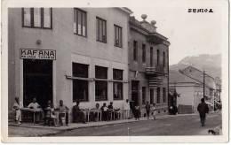 AK BOSNIEN  UND HERZEGOWINA BOSNIA ZENICA  FOTOGRAFIE KAFANA MUJAGA TARABAR , OLD POSTCARD 1936 - Bosnia And Herzegovina