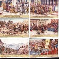 Chromos Liebig - Série Complète De 6 Français N°404 - Les Empereurs Belges De Constantinople - Liebig